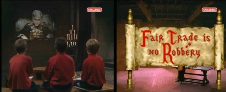 Knightmare Series 5 (1991). Chris's team discover their clues for level 2.