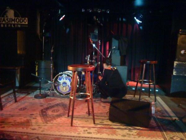 The Quasimodo Club Stage