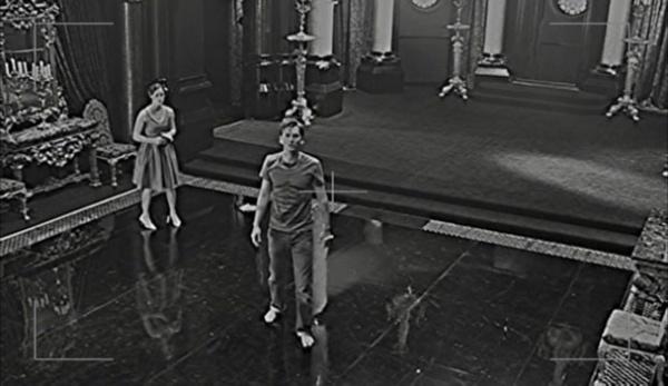 Hamlet being filmed (Act II)
