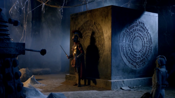 Rory guards the Pandorica