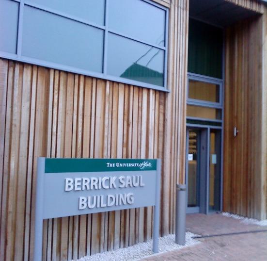 Berrick Saul Building, University of York