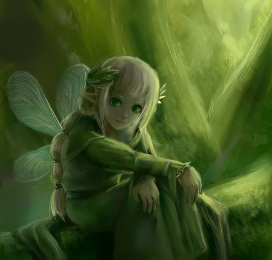 Green Children Pixie