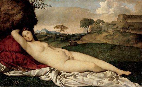 Giorgione Sleeping Venus