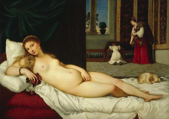 Titian Venus of Urbino