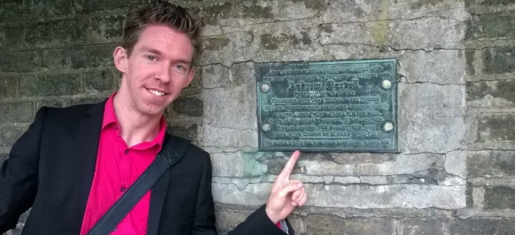 Andrew Marvell Plaque, Waterlow Park