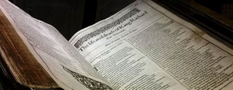 Shakespeare 400 - First Folio in Senate House Library
