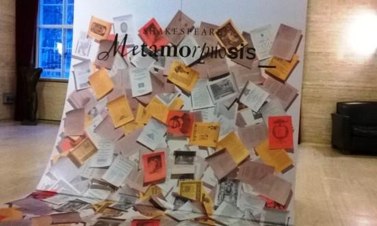 Shakespeare: Metamorphosis, Senate House Library Visual Display