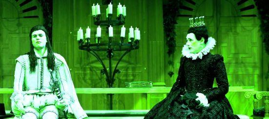 Twelfth Night - Globe On Screen (Green Tint)