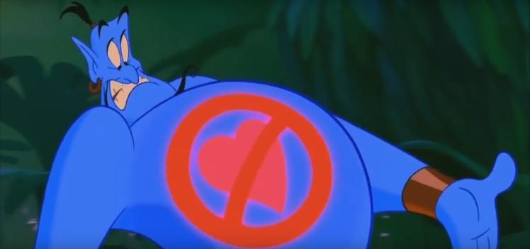 """Aladdin """"Wrong"""""""