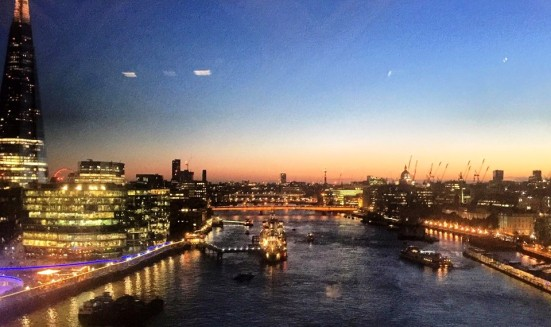 View from Tower Bridge (image: University of London International Programmes)