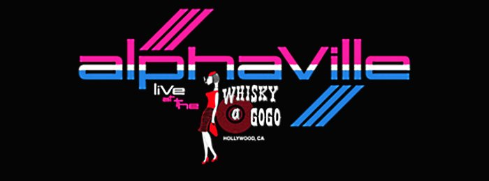 Alphaville, From Hollywood With Love, Live at the Whisky a Go Go (2018), Footer
