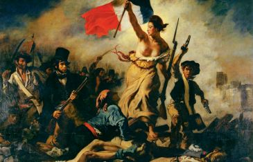 Liberty Leading the People (1830) by Eugene Delacroix.